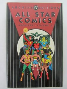 All Star Comics Archives Volume 2 1993 Hardcover DC Archive Editions