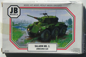 JB Models 1 76 Saladin Mk.II Armored Car – Complete and Unstarted – Free Ship