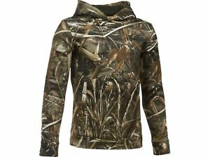 Under Armour Hoodie, Boy's Medium, Realtree Max 5 Camo Hoody, New With Tags $29.99