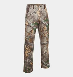 Under Armour Hunting Pants, Men's UA Stealth Reaper Early Season Camo 40X32 NWT $47.99