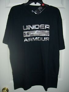 Under Armour Shirt, Men's XL, UA Camo Wordmark Tee Shirt, New With Tags $16.99
