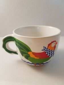FTD Chicken Soup Bouquet Colorful Chicken Soup Bowl Coffee Mug $8.99