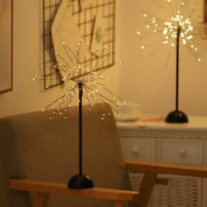 100 Led Copper Wire Night Light Tree Usb Table Lamp Home Indoor Kids Decor Fairy