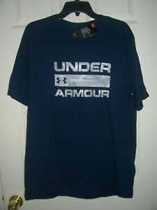 Under Armour Shirt, Men's 2XL, UA Camo Wordmark Tee Shirt, New With Tags $17.99