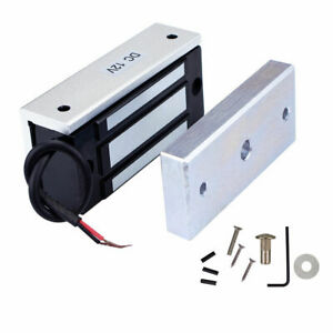 DC 12V 60kg Electric Magnetic Door Lock Holding Force for Door Access Control