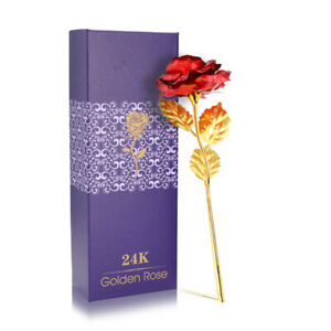 24K Eternal Gold Dipped Rose ADORE INFINITY ROSE Valentine#x27;s Day Best Gift