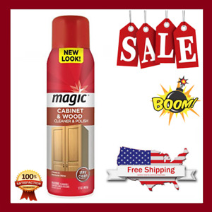 Magic Wood Deep Cleaner&Polish-17 OZ-Heavy Use Wood Furniture Cabinet Table Chai