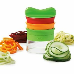 New OXO Good Grips 3 Blade Hand-Held Vegetable Spiralizer Healthy Eating