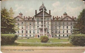 Chester PENNSYLVANIA Pennsylvania Military College ARCHITECTURE 1910 $8.50