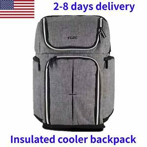 30L Doulbe Compartment Insulated Backpack for Lunch Container 18 Inch Cooler B