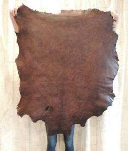Waxy OLD WEST Full Grain Leather Hide for Native Crafts Buckskin Purses Journals
