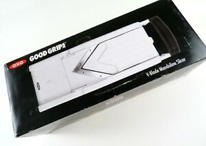 Oxo Good Grips V-Blade Mandoline Slicer, Complete in Box, Excellent