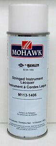 Guitar and Stringed Instrument Lacquer Clear Gloss Mohawk M113-1406 Behlen B1...