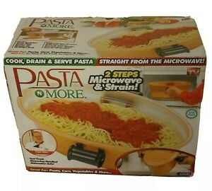 Pasta N More 5 In 1 Perfect Pasta Cooker Copper Non Stick As Seen On TV New