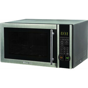 Magic Chef 1.1 Cu. Ft. 1000 Watt Microwave Oven in Stainless Steel MCM1110ST $107.00