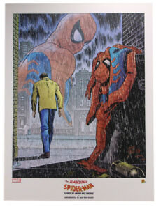 Amazing Spider-Man #50 No More Lithograph by John Romita Sr Marvel Comics