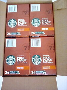 Starbucks Pike Place Roast Coffee K-Cup Pods Medium Roast 96 Count