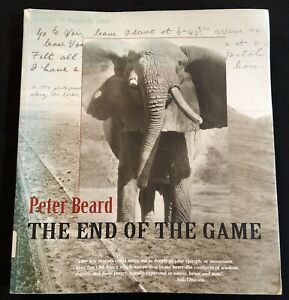 1988 END OF GAME PETER BEARD Africa African Elephants Lions Hunting Photographs