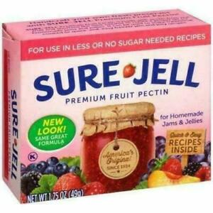 Sure-Jell Premium Fruit Pectin for Use in Less or No Sugar Needed Recipes