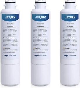 3 pack JETERY Refrigerator Water Filter Replacement RF-03-3 Samsung DA29-00020B