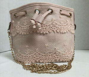 Small Crossbody PINK Purse Handbag By Timed*Free Shipping*New With Tags