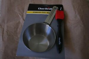 Charbroil Basting Brush Stainless Bowl Grilling Grill Tool Brand New Char Broil