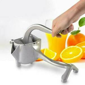 Manual Fruit Juicer Orange Fresh Juice Squeezer Hand Press Lemon Extractor