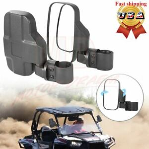 Rear View Mirror Set UTV Side Mirrors 1.75 2 Clamp Roll Cage For Polaris RZR $21.95