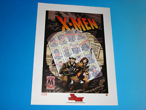 X-Men Days Of Future Past Lithograph John Byrne Austin Chung Marvel Comics