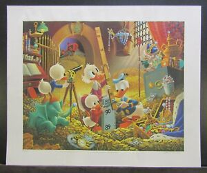 An Embarrassment of Riches Lithograph by Carl Barks