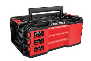 Craftsman 3 Drawer Tool Case Tray Top VERSASTACK Empty ~ *Tools Not Included**