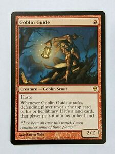 1x Goblin Guide Rare Zendikar Magic the Gathering Pack Fresh NM M