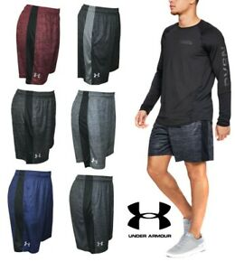 New With Tags Mens Under Armour Gym UA Muscle Athletic Logo Shorts $19.73