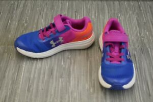 **Under Armour GPS Surge RN 3021175 403 Athletic Shoe Little Girl's Size 13.5 $30.41