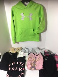 Girls size 10 12 Fall Winter Clothes Lot 10 Piece Under Armour TCP French Toast $49.99