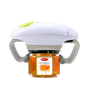 Electric Jar Kitchen Gadget Strong Tough Automatic Jar Opener with Less Effort