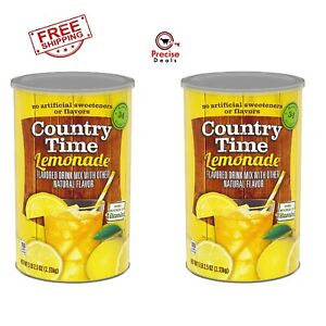 Country Time Lemonade Mix Flavor Drink (82.5oz) Pack of 2 **Free Shipping*