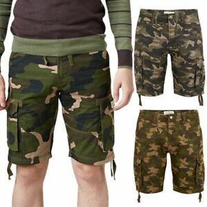 Stallion Men#x27;s Army Camouflage Shorts BEST FIT PLEASE SEE ATTACHED DESCRIPTION