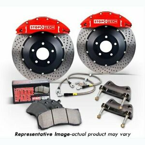 StopTech 83-1606D00R2 Front Big Brake Kit 380mm x 35mm 2 Piece Drilled Rotors ST