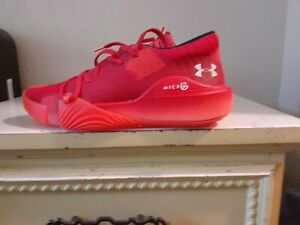 NEW Under Armour Anatomix Spawn Basketball Shoes 3022384 601 Red Men's size 10.5 $59.99