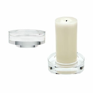 Dimond Home Fluted Crystal Candleholders Set of 2 980009/S2