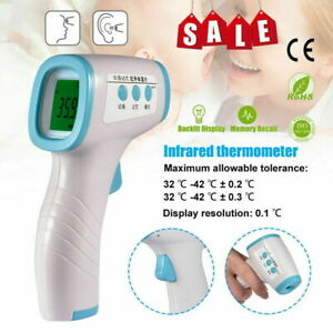 Infrared Forehead Thermometer Body Temperature Meter Home Fast Measuring $14.55