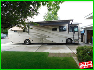 2008 Fleetwood Expedition 38N 38' Class A Motorhome Sat. Dish WashDryer c413647