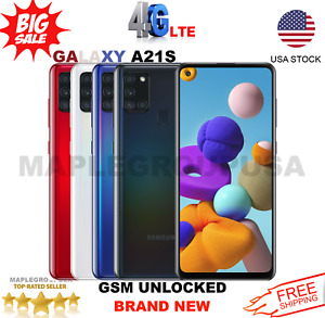 Samsung Galaxy A21S 64GB GSM UNLOCKED 6.5quot; Duos T Mobile MetroPcs $192.99