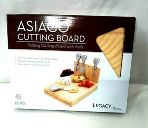 Asiago Cheese Set Cutting Board with Tools by Picnic Time The Legacy Collection
