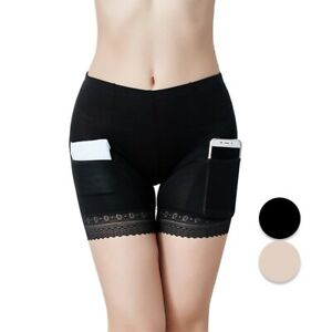 Women Safty Under Shorts Stretch Pants Leggings Ladies Underwear with Pocket $6.14