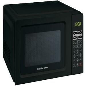 Black Digital Microwave Oven 0.7 Cu.ft 700W Small Compact Room Office KitchenNEW