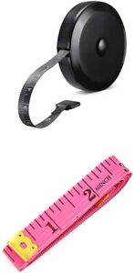 2 PACK Measure Measuring Tape for Body Weight Loss 60 Inches Soft Retractable $5.95