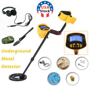 LCD Display Underground Metal Detector Gold Digger Hunter Deep Sensitive Coil $69.99