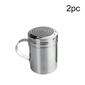 BBQ Stainless Steel Cruet Salt Pepper Seasoning Condiment Spice Shaker Bottle